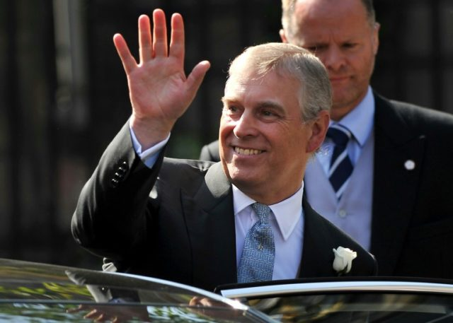 Britain's Prince Andrew is the third son of Queen Elizabeth II