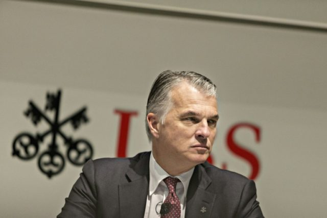"CEO Sergio P. Ermotti said UBS had ""an excellent start"" to 2018"