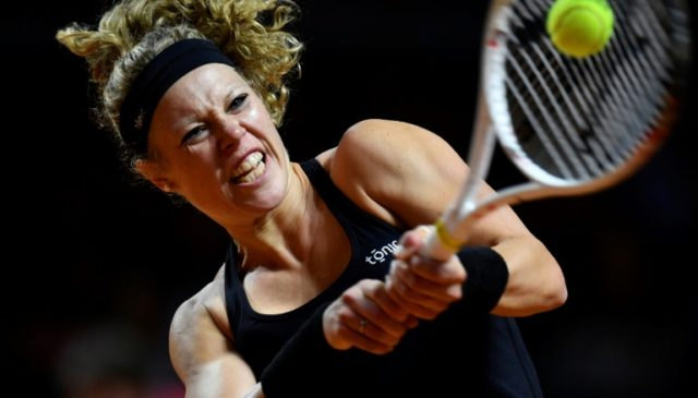 Laura Siegemund won in Stuttgart last year