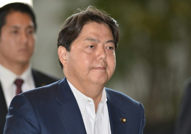 "Japan's education minister Yoshimasa Hayashi has denied participating in a ""sexy private yoga"" session"