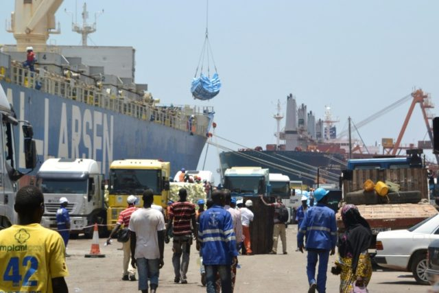 The Autonomous Port of Conakry, which the Bollore Group received the contract to operate after Alpah Conde was elected president of Guinea