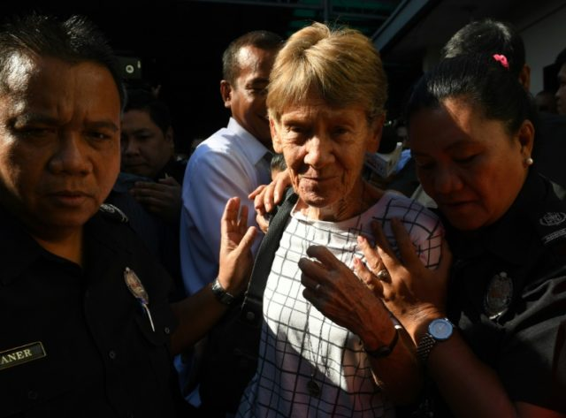 The Philippines accused Sister Patricia Fox of violating the terms of her visa after she joined a human rights fact-finding mission