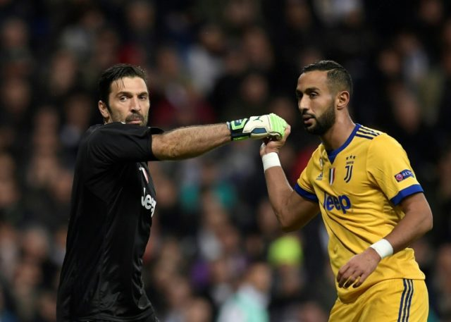 Buffon dismissed talk of a rift with Benatia as 'invented gossip'