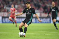 Marco Asensio scored the winner as Real Madrid moved closer to a third straight Champions League title