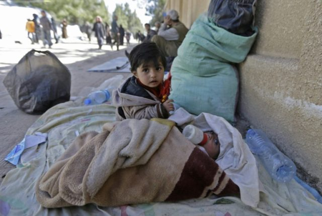 The UN says some 6.1 million people are internally displaced in Syria, more than five million have fled the country and 13 million including six million children are in need of aid