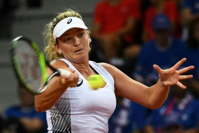 'Not here to lose': Vandeweghe routs Stephens in Stuttgart