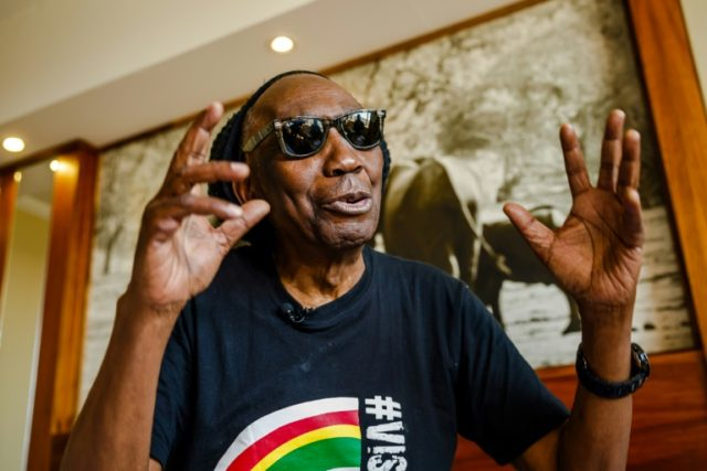 Zimbabwean musician Thomas Mapfumo has remained a beloved national hero despite moving to the United States