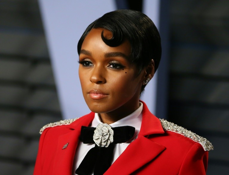 Janelle Monae -- shown here at the 2018 Vanity Fair Oscar Party in March -- set the internet ablaze with her announcement that she is pansexual