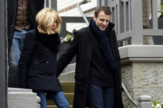 The Macrons' holiday home, a family property inherited by Macron's wife Brigitte, is in the centre of the popular seaside resort, posing difficulties for French security forces