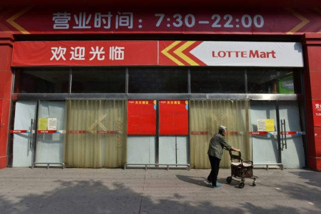 The missile defence row between Seoul and Beijing has seen dozens of Lotte stores close in China