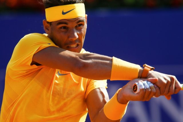 Unstoppable: Rafael Nadal eases past Guillermo Garcia-Lopez in Barcelona