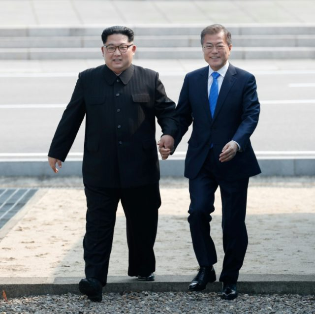 North and South Korea hold historic summit
