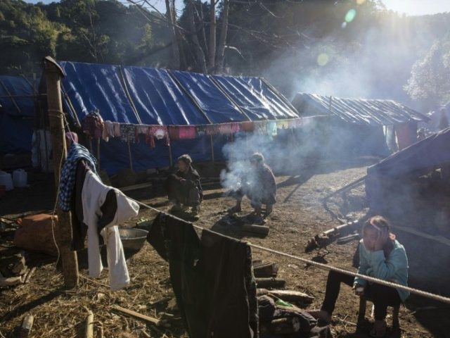 Tens of thousands of people have been displaced since a ceasefire between the government and the powerful Kachin Independence Army broke down in 2011