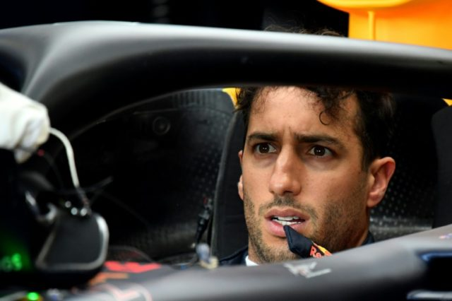 Daniel Ricciardo topped the times in the second free practice for the Azerbaijan Grand Prix