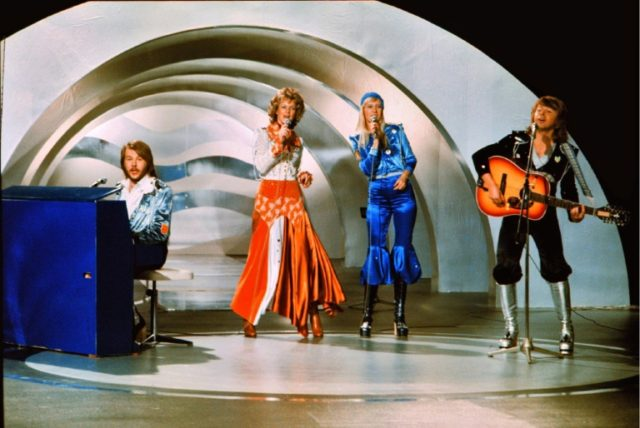 """Abba came to fame after the Eurovision Song Contest in 1974 with the song """"Waterloo""""."""