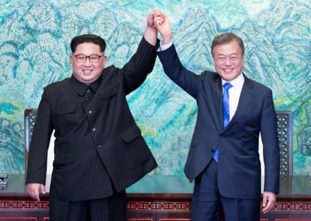 North Korean leader Kim Jong Un and South Korean President Moon Jae-in met for the first North-South summit in 11 years