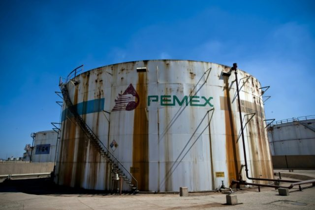 Mexico's Pemex back in black, but production drops