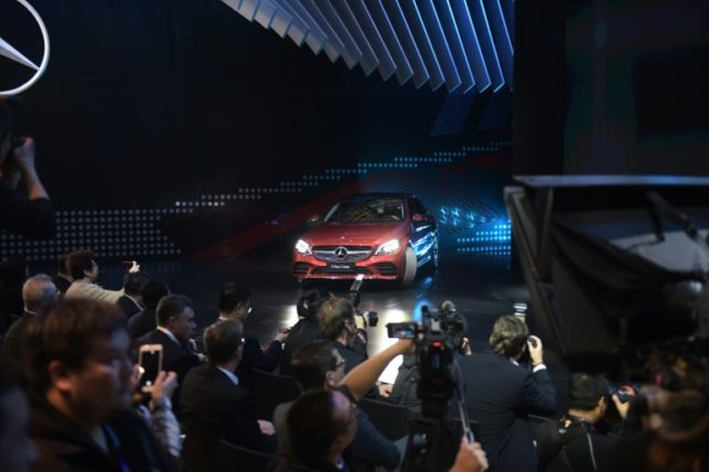 The new Mercedes-Benz C-Class L was a big winner at the Beijing Auto Show