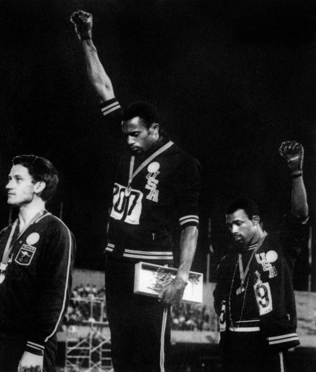 Australia honours 'Black Power' hero Norman with Olympics award