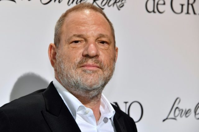 Disgraced film producer Harvey Weinstein at Cannes last year