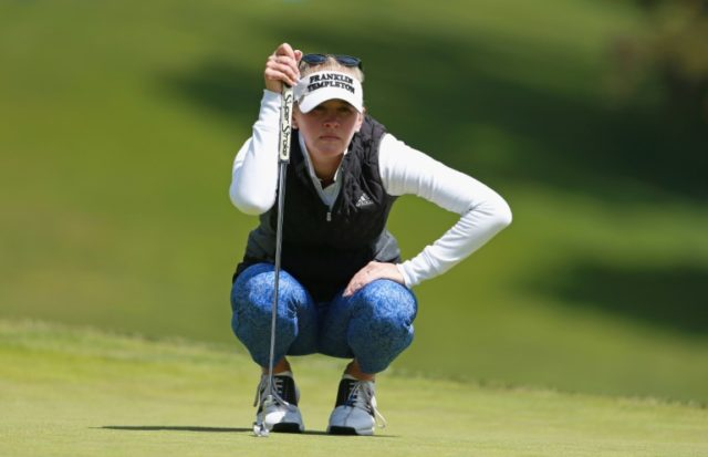 Jessica Korda broke out of a five-way tie atop the leaderboard after the first round with a five-under par 67 to seize a one-stroke lead in the LPGA Mediheal Championship