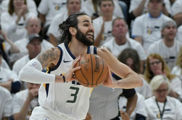 Ricky Rubio played a starring role as the Utah Jazz beat the Oklahoma City Thunder in the first round of the playoffs