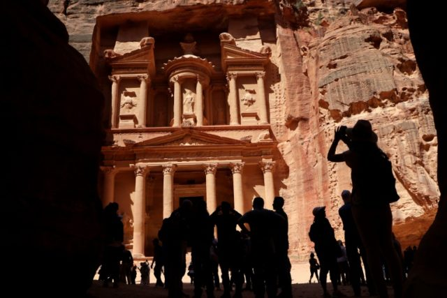 Petra, a UNESCO World Heritage Site, was once a major crossroads for caravans transporting Arabian incense, Indian spices and Chinese silks