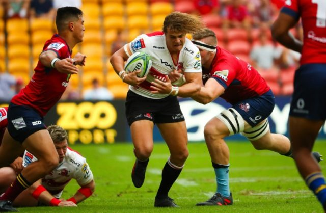 The Queensland Reds battled hard to stun the Golden Lions in Brisbane