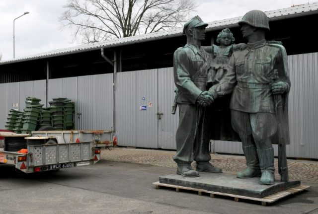 A monument to Soviet Red Army soldiers that had dominated a square in the southwestern Polish town of Legnica for nearly 70 years has been removed and mothballed with dozens of other monuments under a 2016 decommunisation law