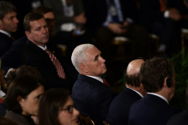 US Vice President Mike Pence's speech comes as lawmakers are calling on the Trump administration to take a harder line on President Nicolas Maduro's regime