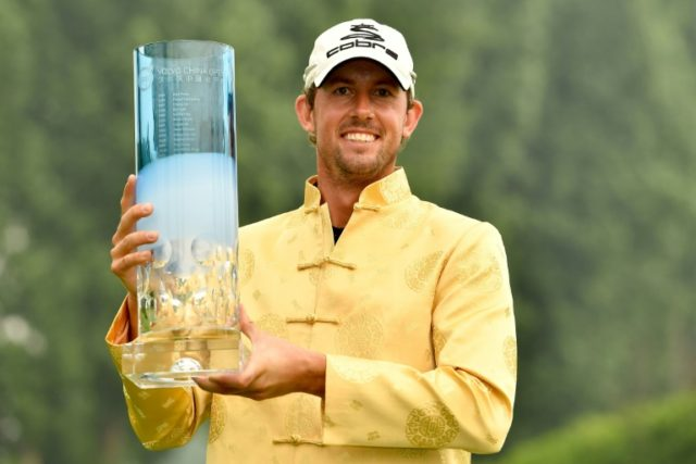Alexander Bjork won his first European Tour title in stunning fashion after carding a seven-under 65 to emerge from a packed China Open field in a dramatic final round Sunday