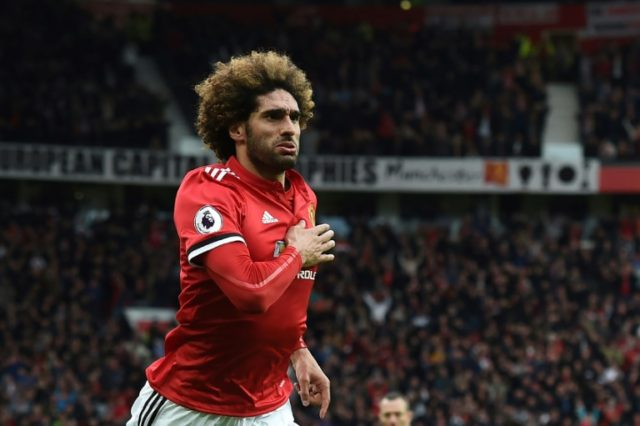 Fellaini is out of contract at the end of the season.