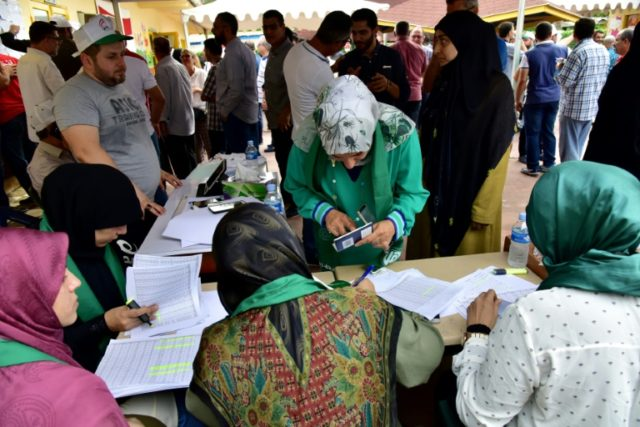 Lebanese nationals in Ivory Coast voted for the first time Sunday in parliamentary elections back home