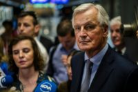 "European Union chief Brexit negotiator Michel Barnier said the EU will work ""together with the Irish government"" on the long-time border issue"
