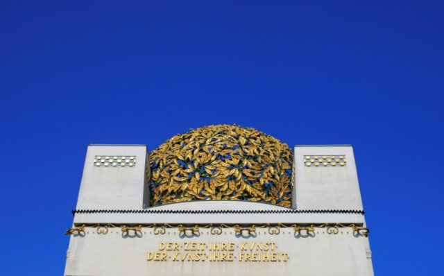 Thieves have stolen half a dozen of the copper leaves that make up the famous 'golden cabbage' on the roof of the iconic art nouveau Secession building in Vienna