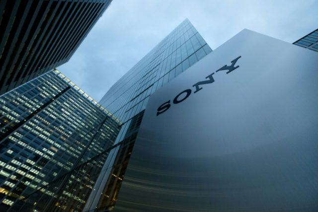 Sony said all its business segments, except mobile operations, enjoyed increased sales