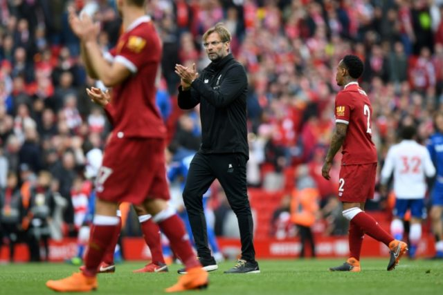 Liverpool manager Jurgen Klopp's side are on the brink of reaching the final of Europe's elite club competition for the first time since 2007 as they defend a three-goal advantage against AS Roma