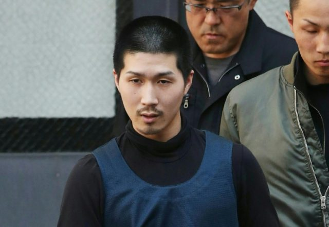 Tatsuma Hirao, 27, was arrested near Hiroshima railway station in western Japan