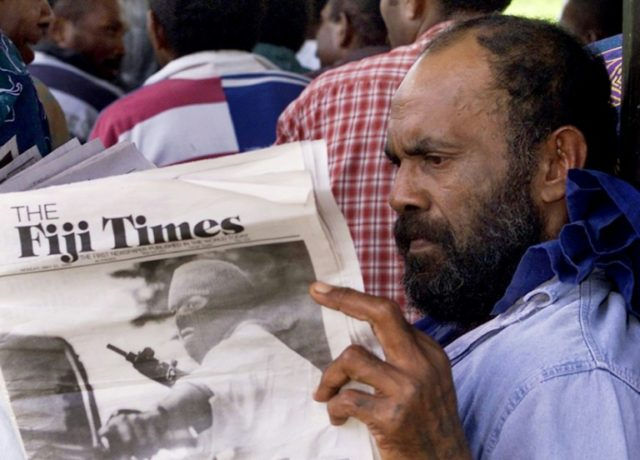 Three executives of the Fiji Times newspaper face sedition charges in a case described as 'spurious' by Reporters Without Borders