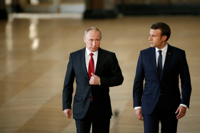 "The Kremlin Russian President Vladimir Putin and French leader Emmanuel Macron were both calling for ""strict observance"" of the hard-fought 2015 agreement, which Trump has threatened to torpedo"
