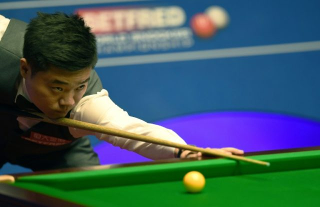 Ding Junhui is closing in on a second appearance in the world snooker championships in three years