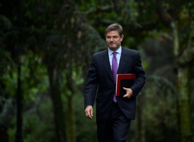 Spanish Minister of Justice Rafael Catala caused outrage among magistrates in Spain