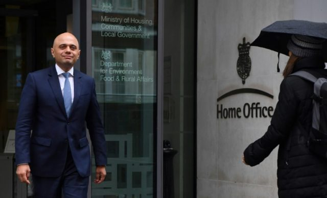 Britain's new Home Secretary Sajid Javid is the son of a Pakistani bus driver who arrived in Britain in 1961 with one pound in his pocket