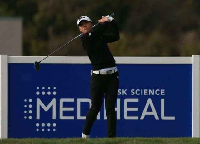 Lydia Ko, who has slumped to 18th in the world rankings during an LPGA title drought, topped the leaderboard on 11-under 205, a one-stroke lead going into the final round of the LPGA Mediheal Championship