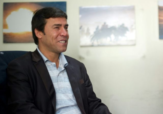 Shah Marai's career with AFP began in 1996, the year the Taliban took over Afghanistan