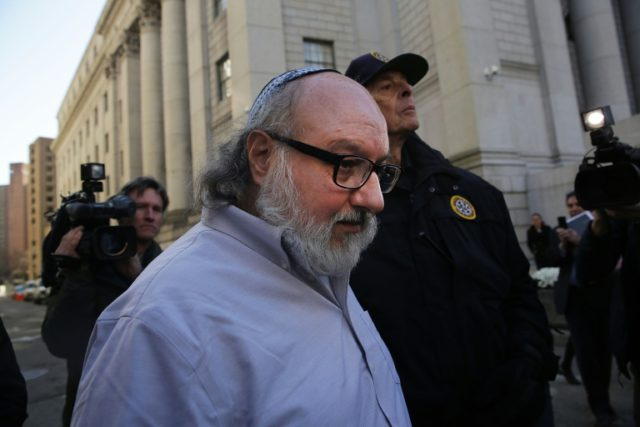 Jonathan Pollard, an American convicted of spying for Israel, leaves a New York court after his release from prison in November 2015 following three decades behind bars
