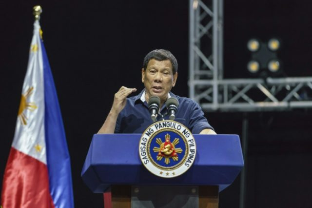 President Rodrigo Duterte has vowed to kill a hundred thousand criminals to rid the country of the scourge of drugs