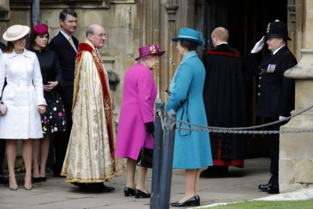 British royals go to Easter service without Harry and Markle