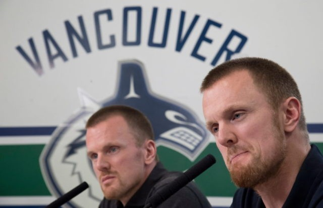Canucks' Sedin twins to retire after this season, their 17th