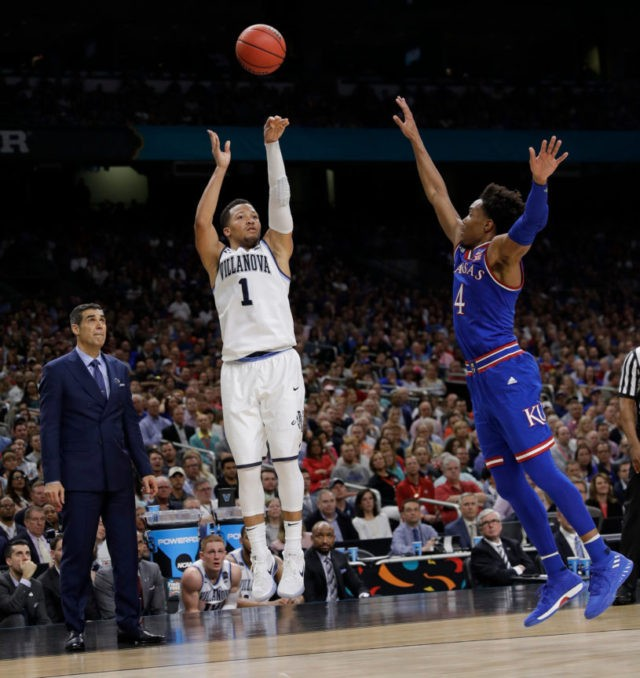 NCAA Latest: Villanova-Michigan title game all about the 3s